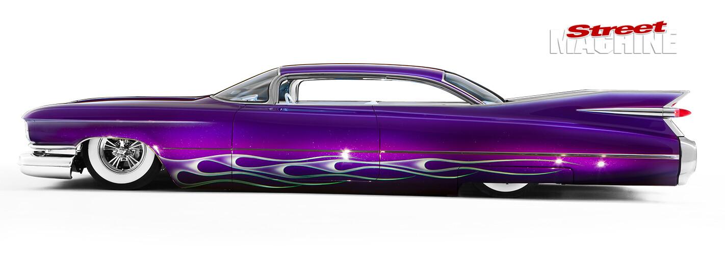 custom Cadillac side