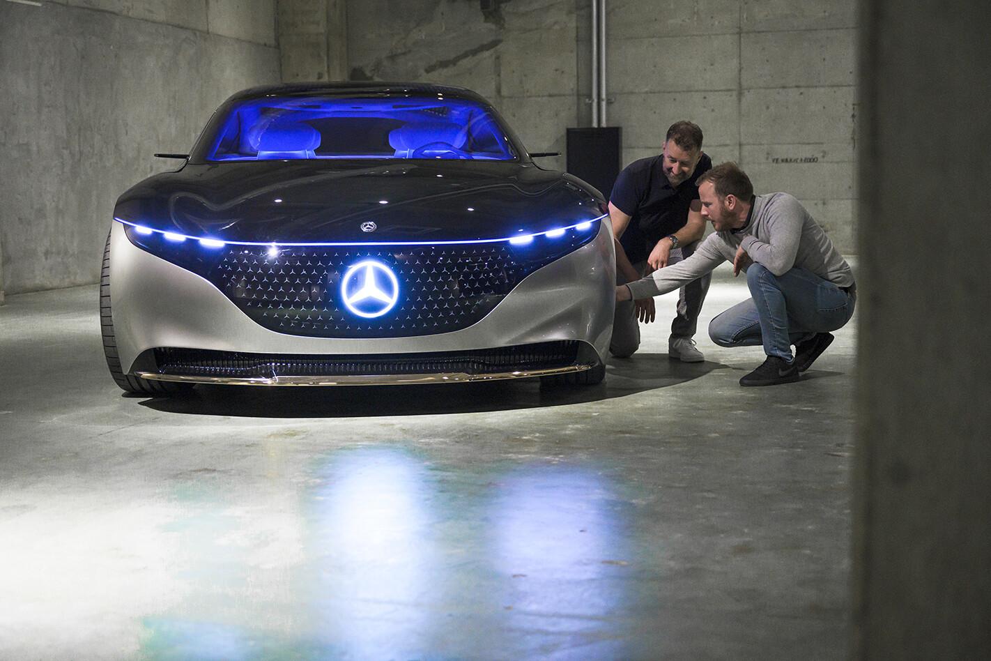 2020 Mercedes-Benz EQS tech