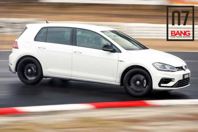 2019 Volkswagen Golf R Special Edition results