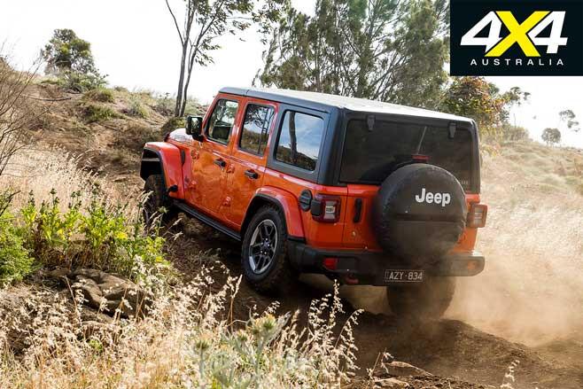 Jeep Wrangler Rubicon Rear Jpg