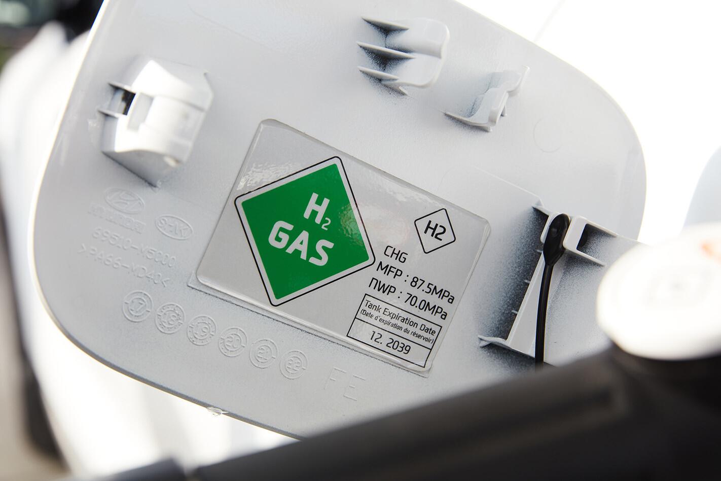 Hydrogen fuel cap