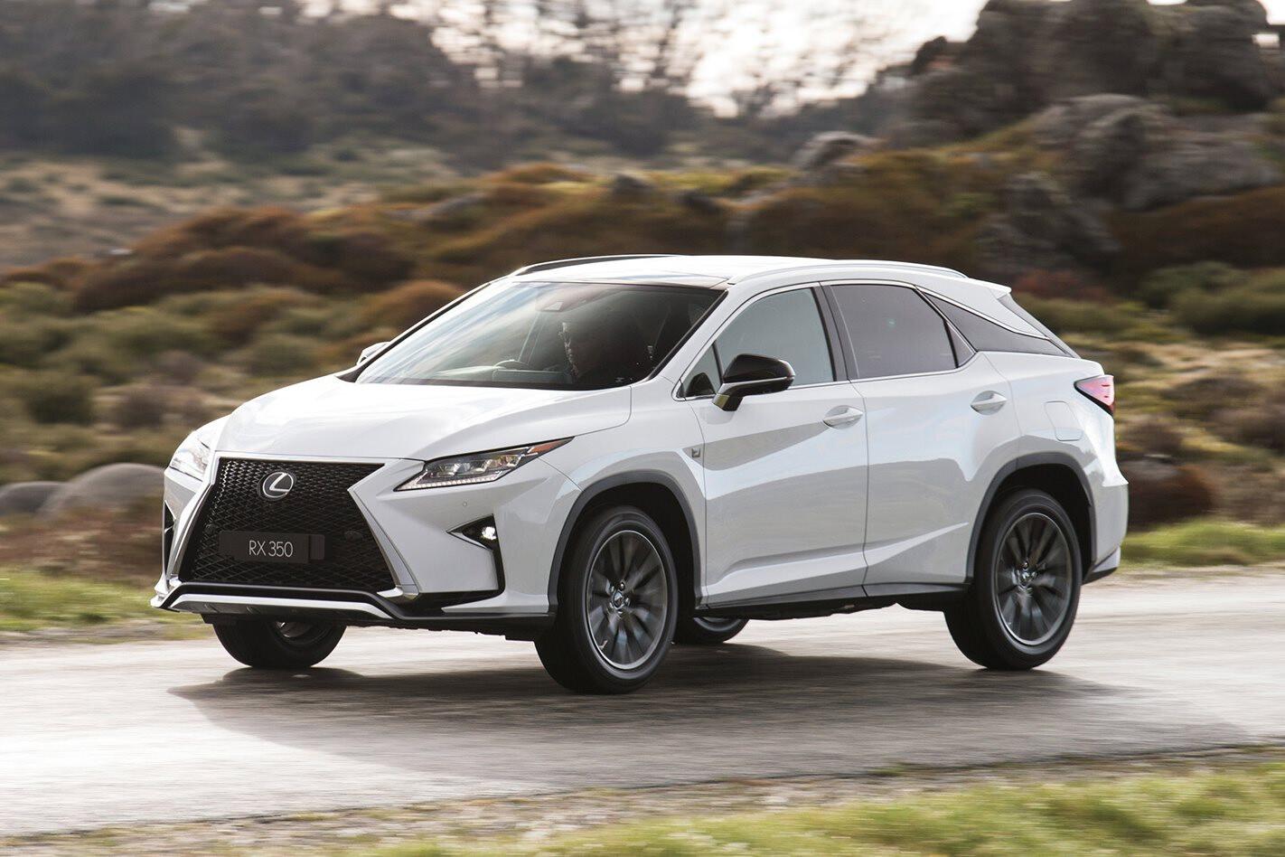 2017 Lexus RX Front Side Jpg