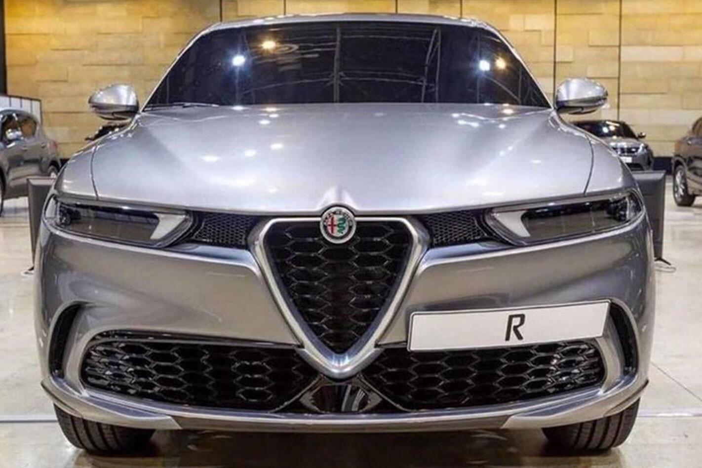Leaked image of the Alfa Romeo Tonale