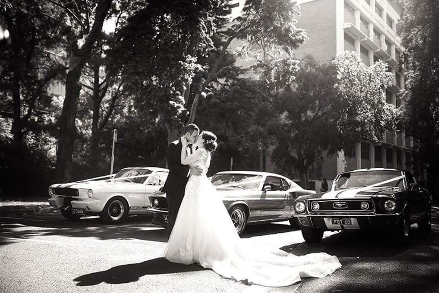 Tony Assaf's wedding cars