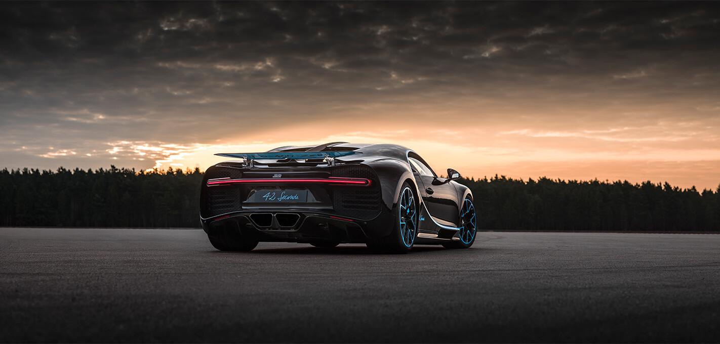 Bugatti Chiron Record Rear Quarter Jpg