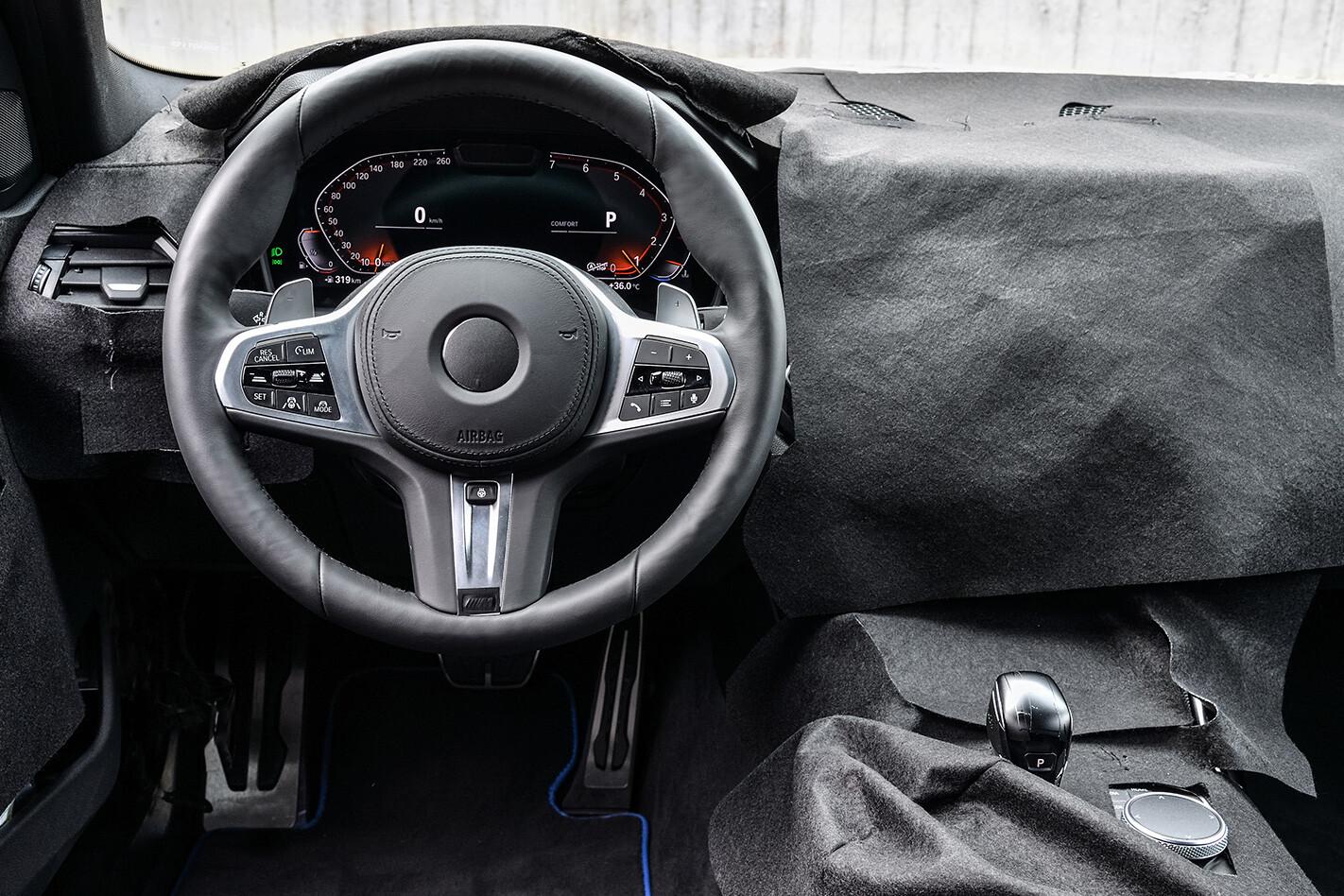 BMW 3 Series prototype interior