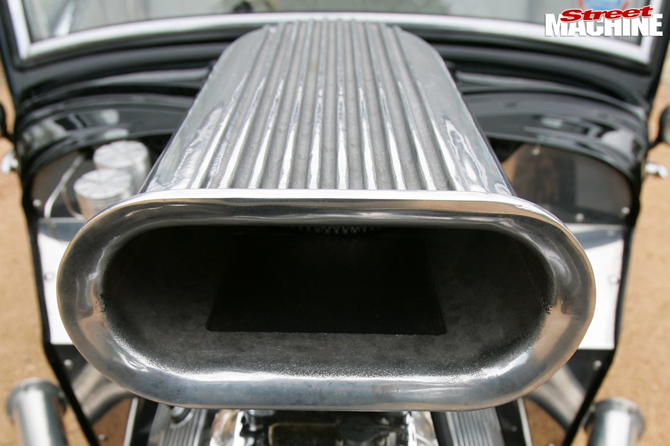 Ford coupe blower