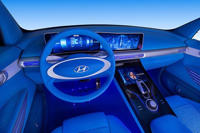 Hyundai FE Fuel Cell Concept interior