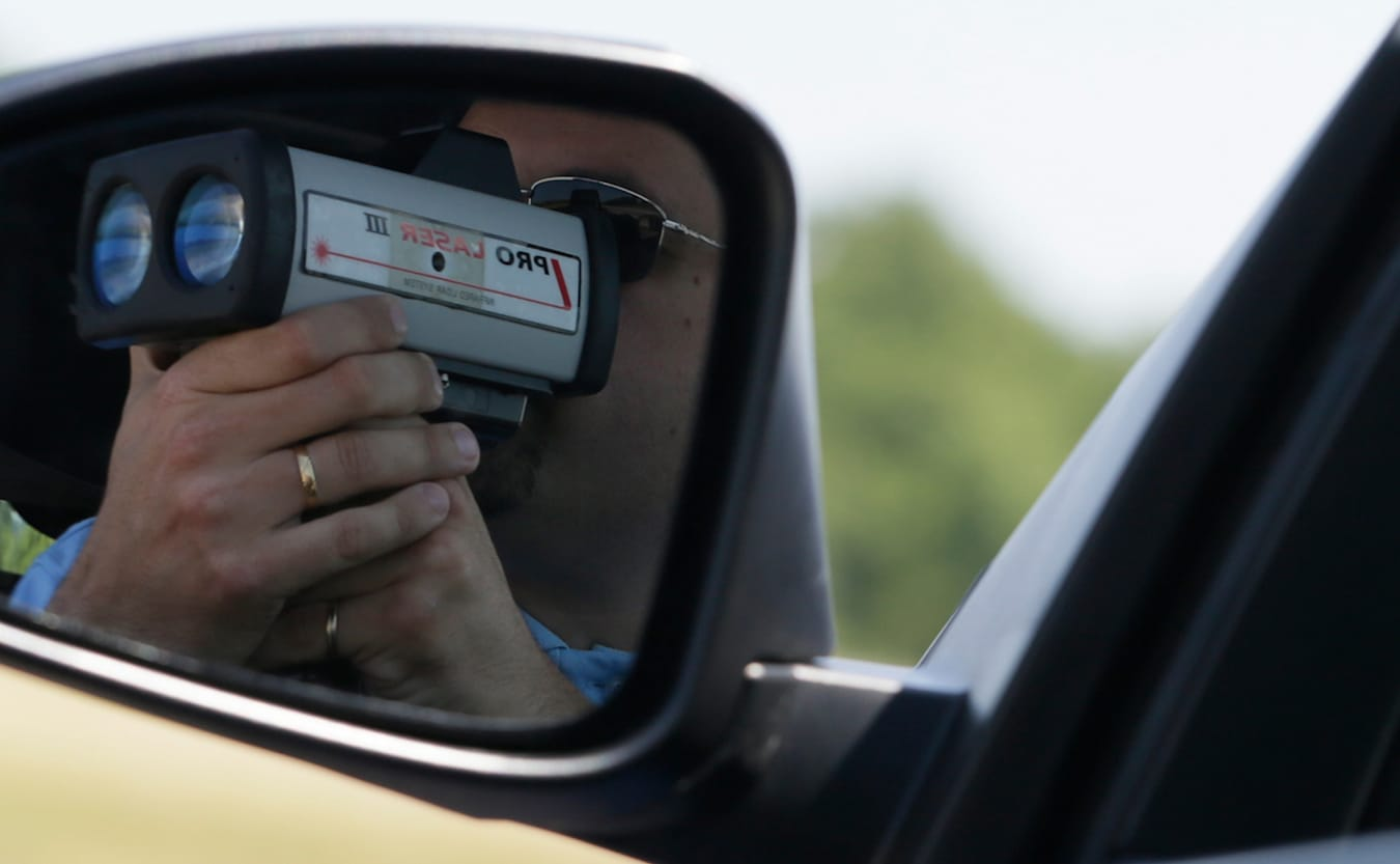 This video illustrates the extreme lengths police will go to catch speeding drivers