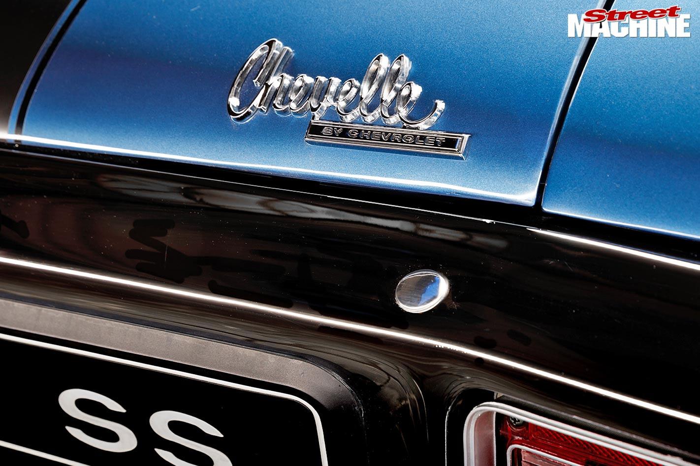 Chevelle SS badge
