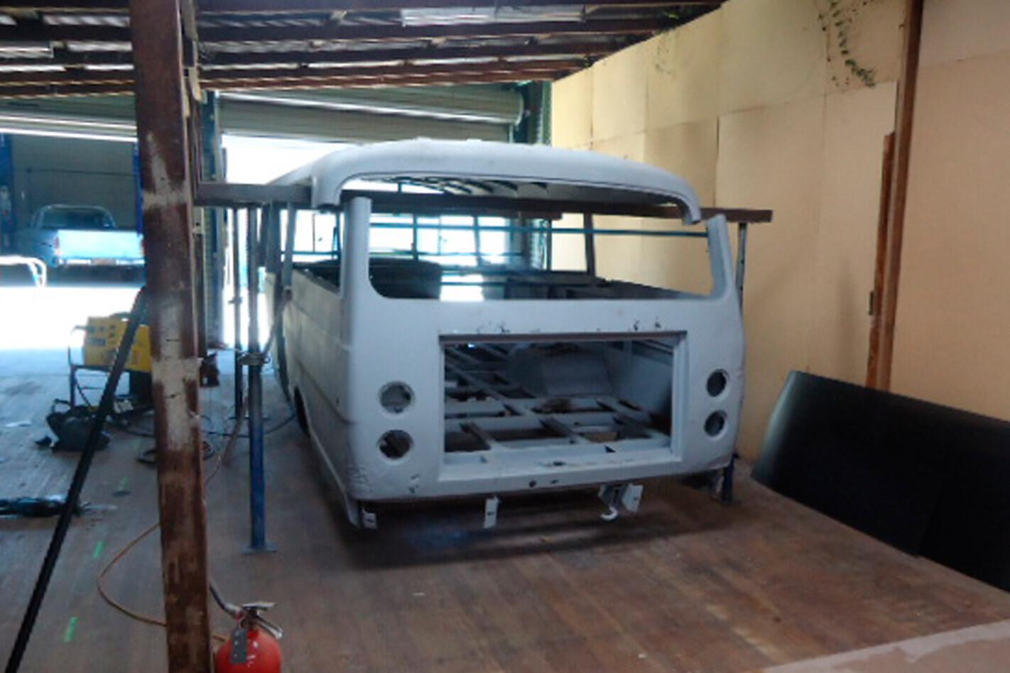 Silver Fox bus build