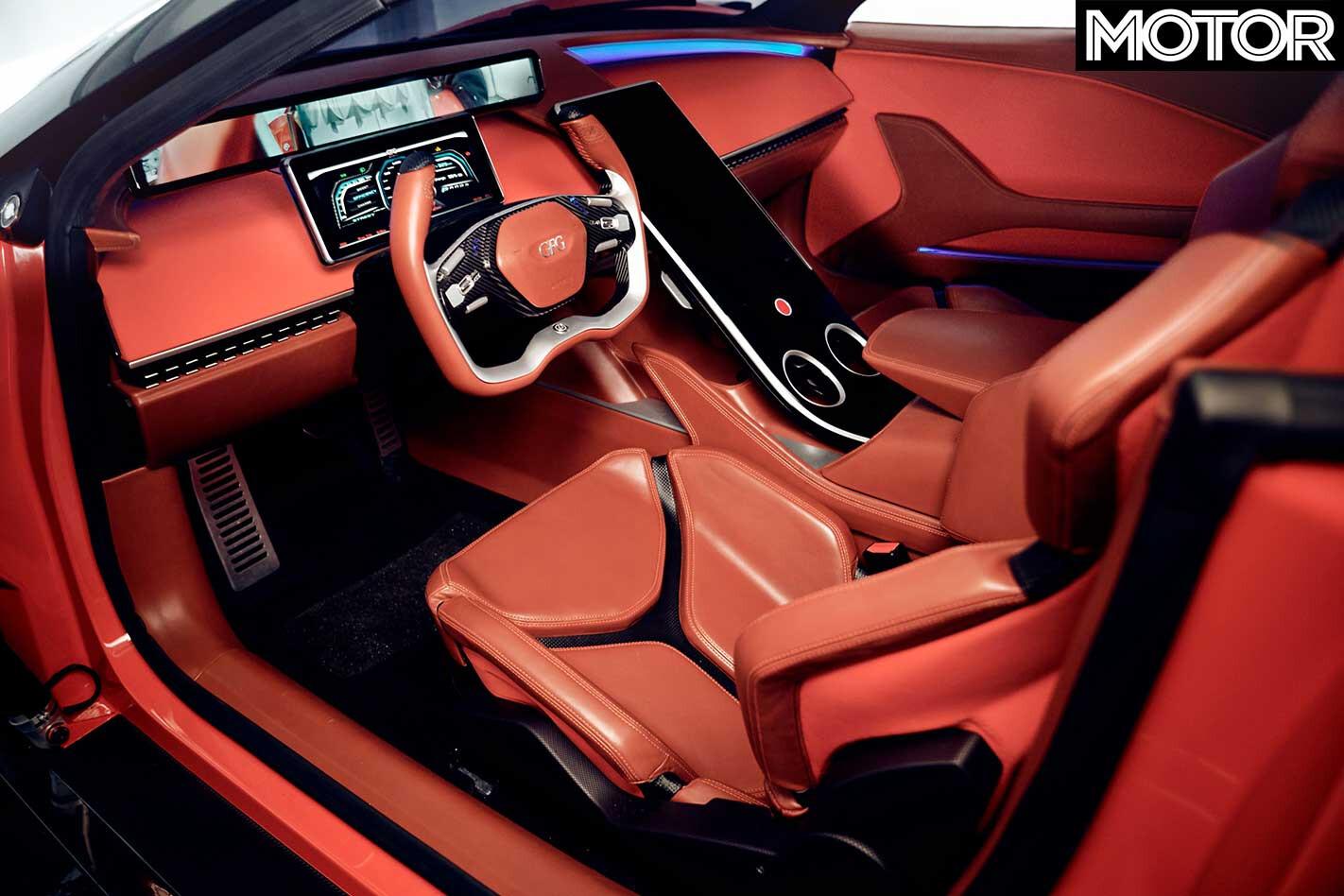 Giugiaro Kangaroo Hyper SUV Interior Jpg