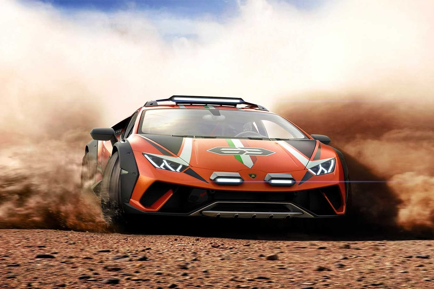 Lamborghini Huracan Sterrato off-road concept revealed