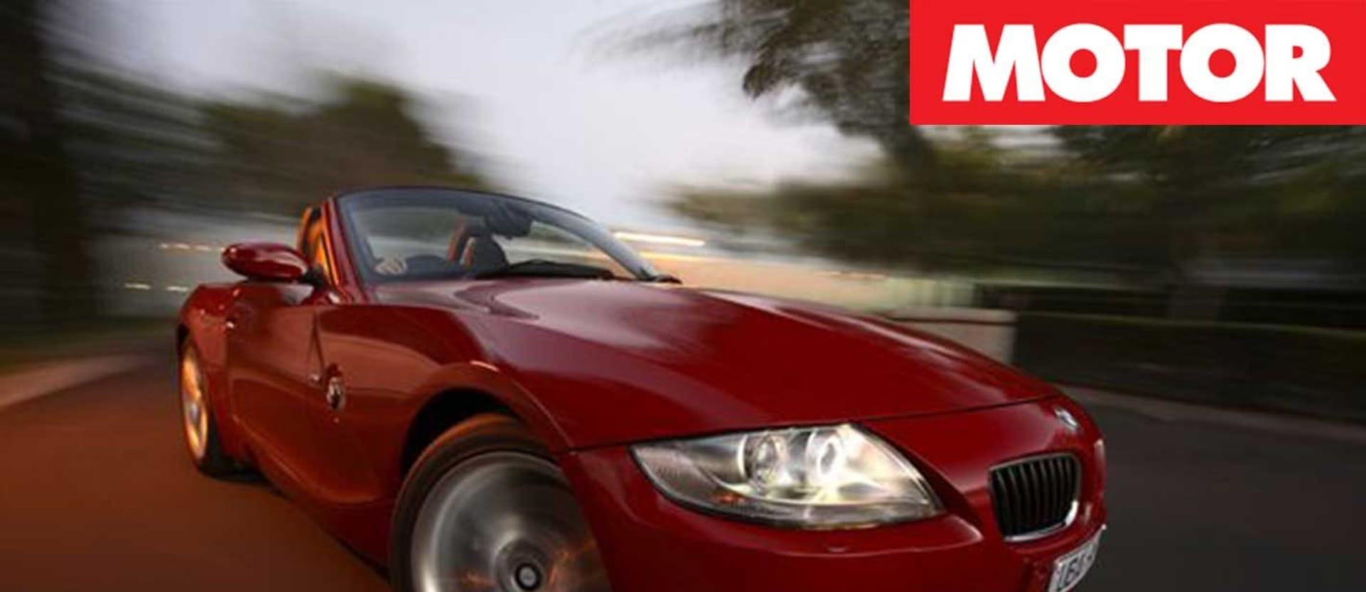 2006 BMW Z4 M roadster review classic MOTOR feature