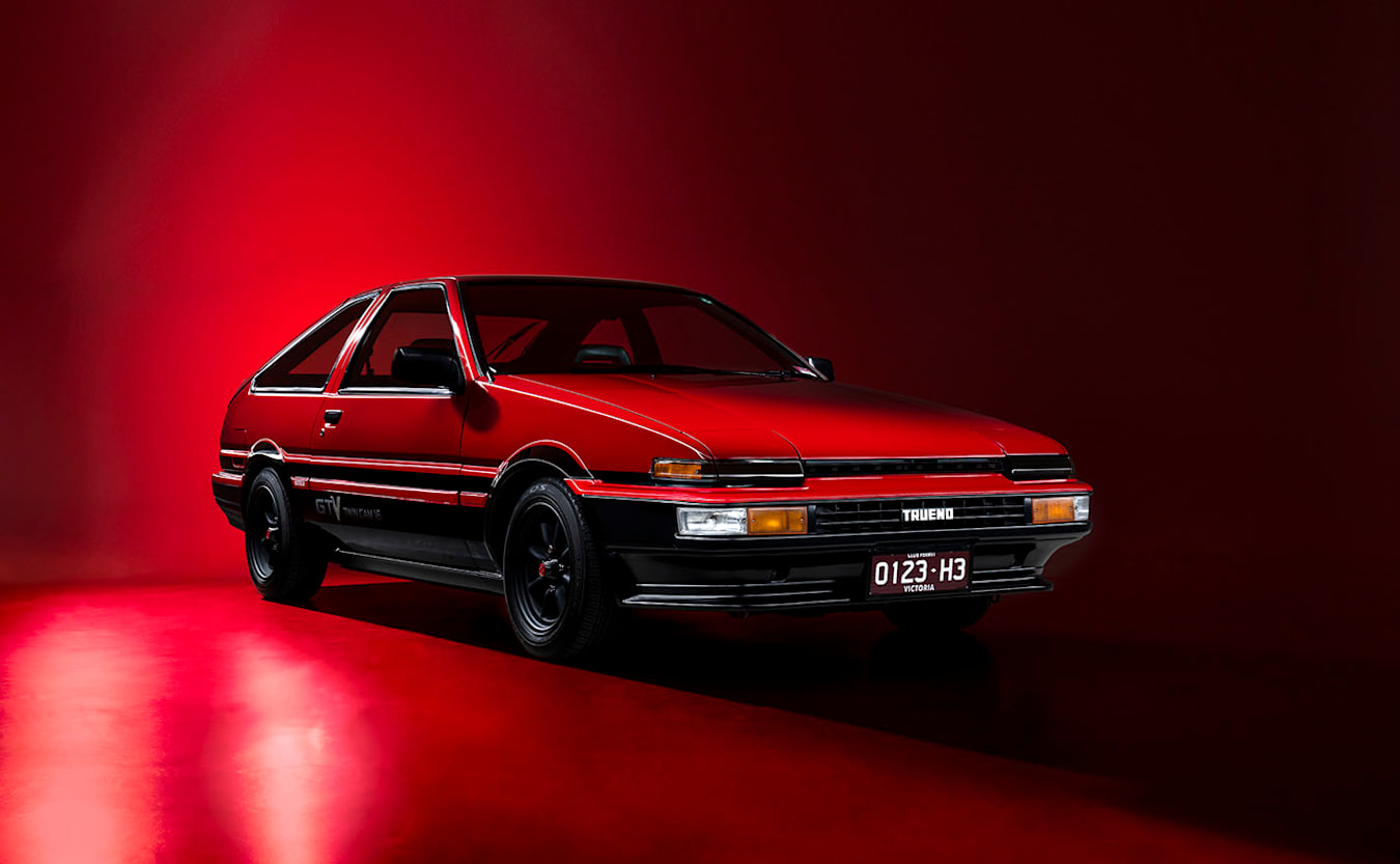 Toyota AE86 front