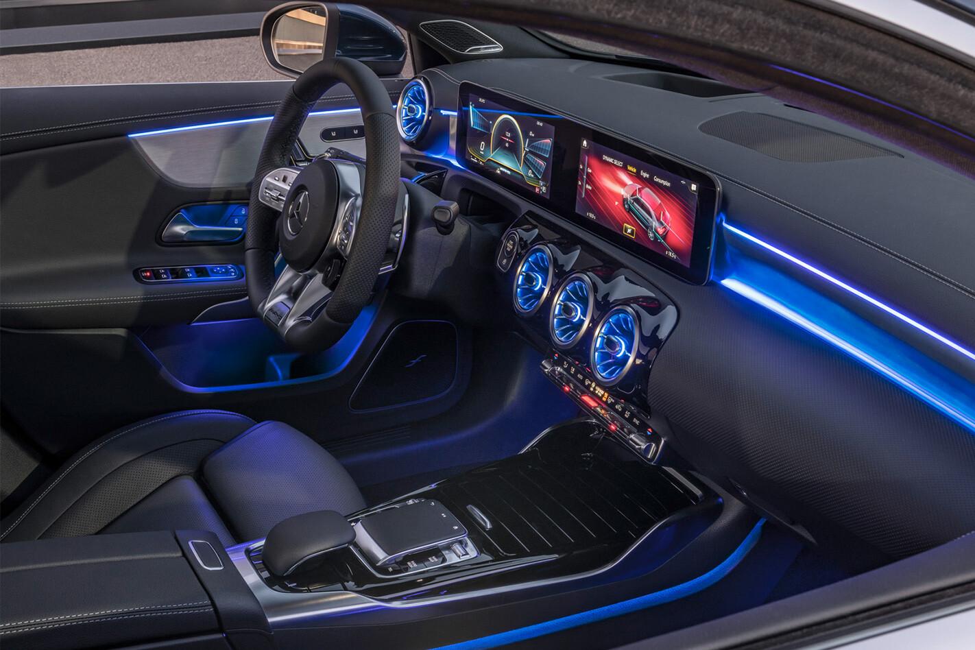 Mercedes A 35 Interior Jpg