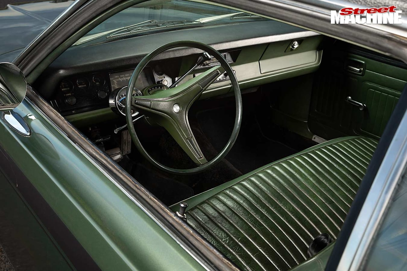 Plymouth Duster interior
