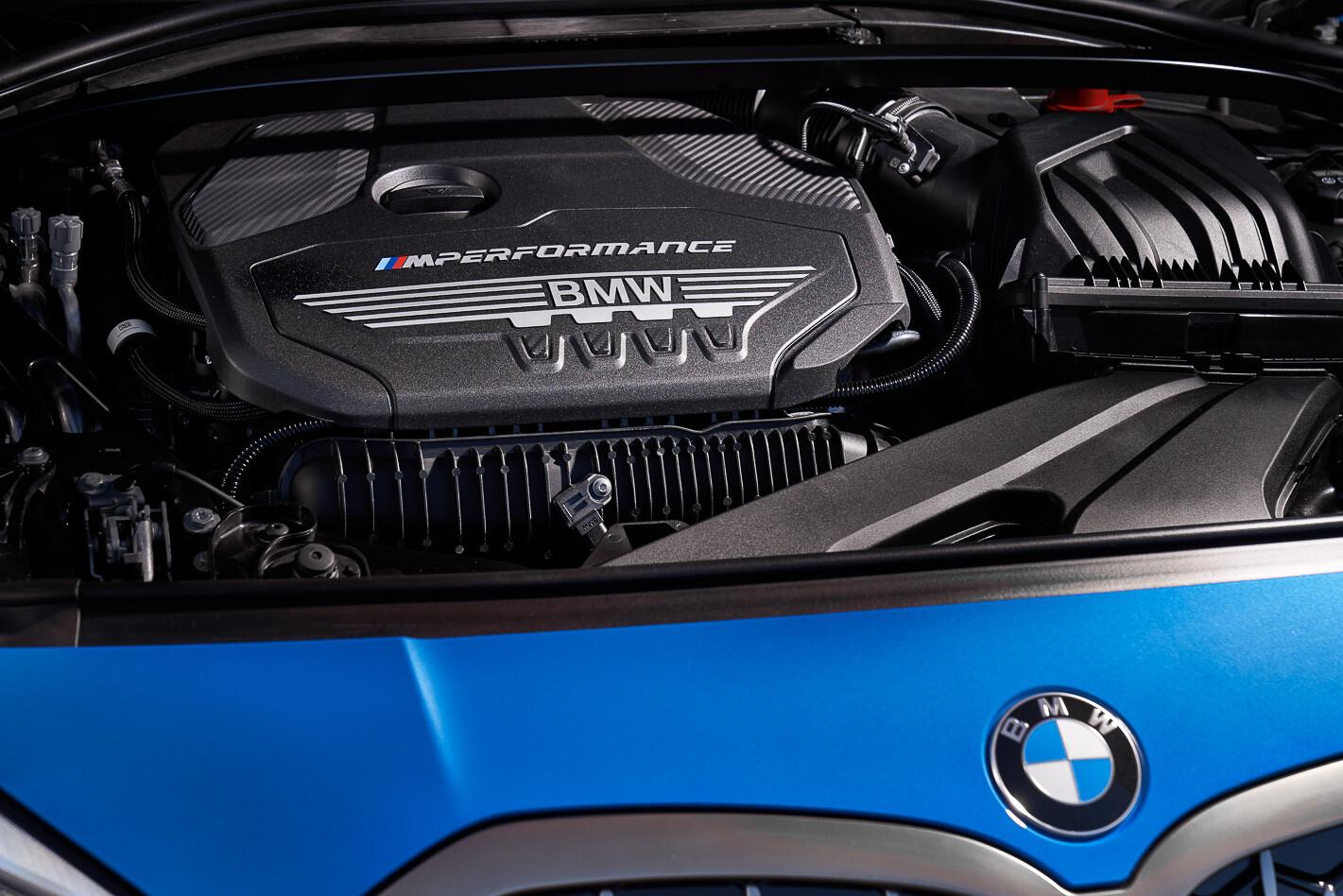 2019 BMW M135i xDrive engine