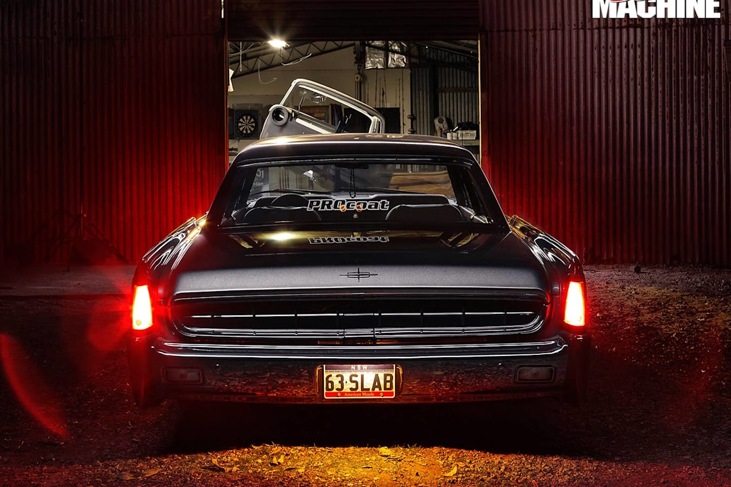 Lincoln Continental rear