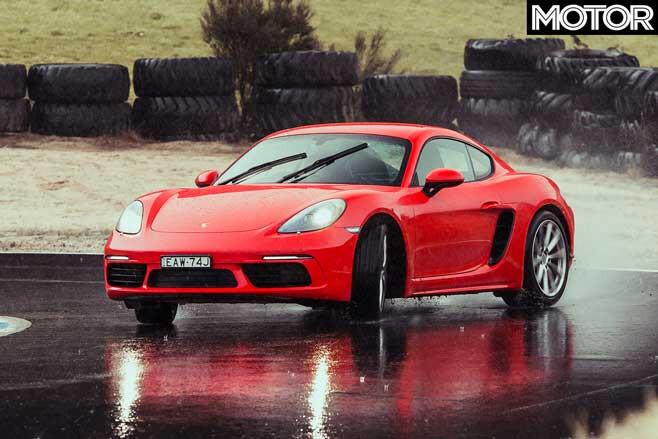Porsche 718 Cayman Handling Jpg
