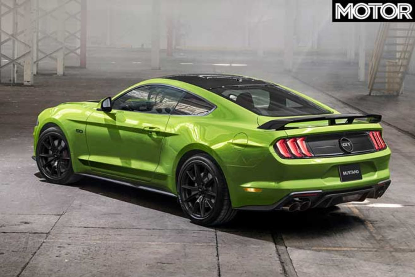 2020 Ford Mustang update rear