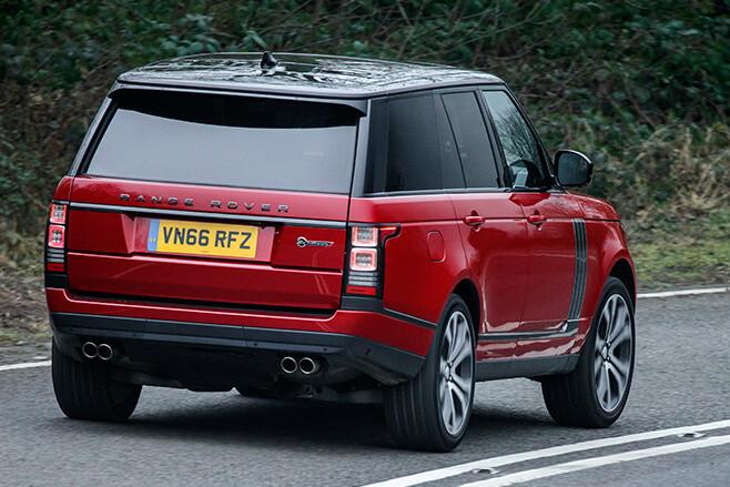 2017 Range Rover SVA Dynamic rear