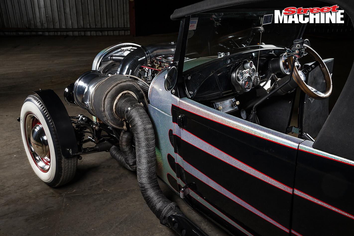 29 Ford Roadster Pick Up Big Block Turbo 5