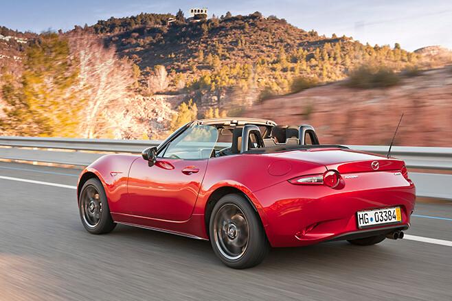 Mazda MX-5 side rear