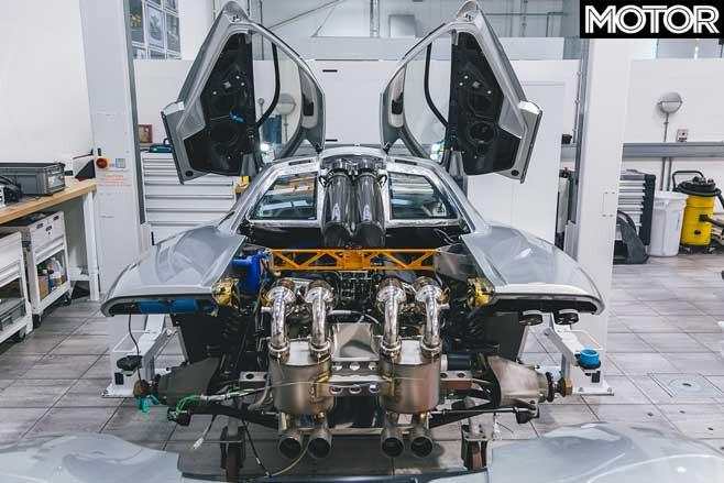 Mc Laren F 1 Routine Maintenance Service Engine Bay Jpg