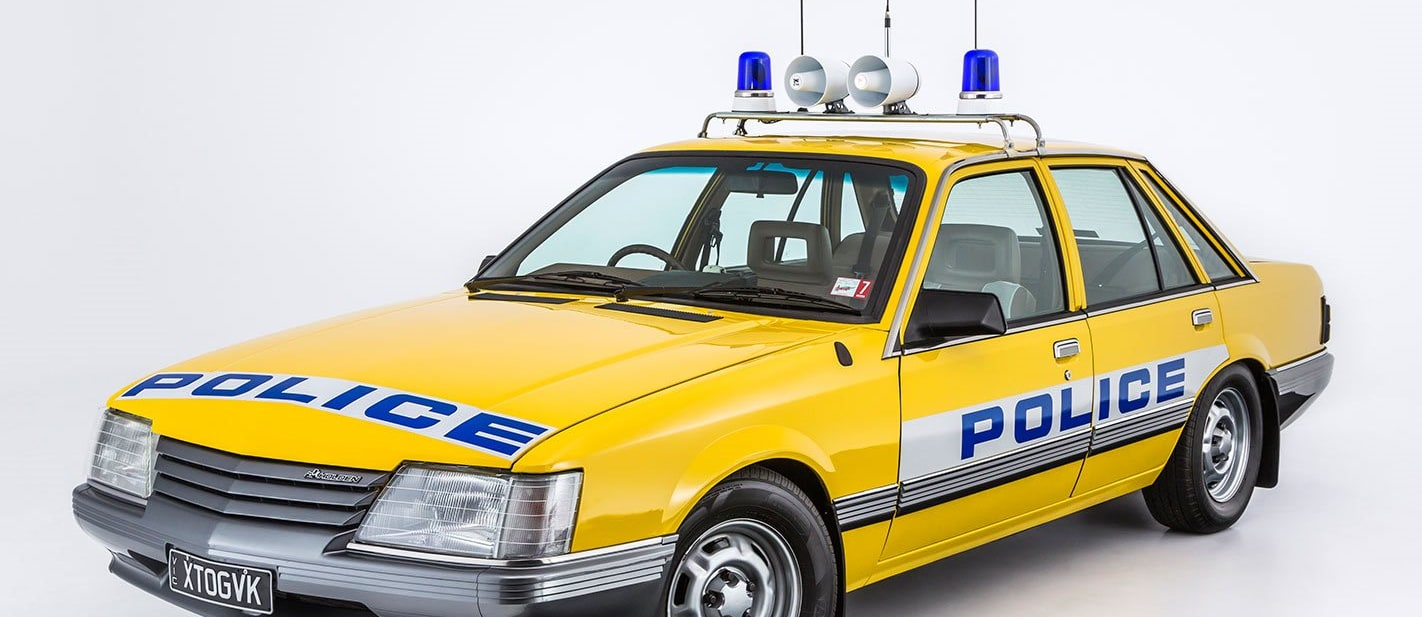 Holden VK Commodore Police car