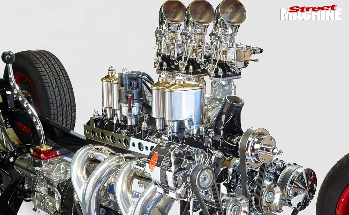 Ford -model -a -chassis -engine -b
