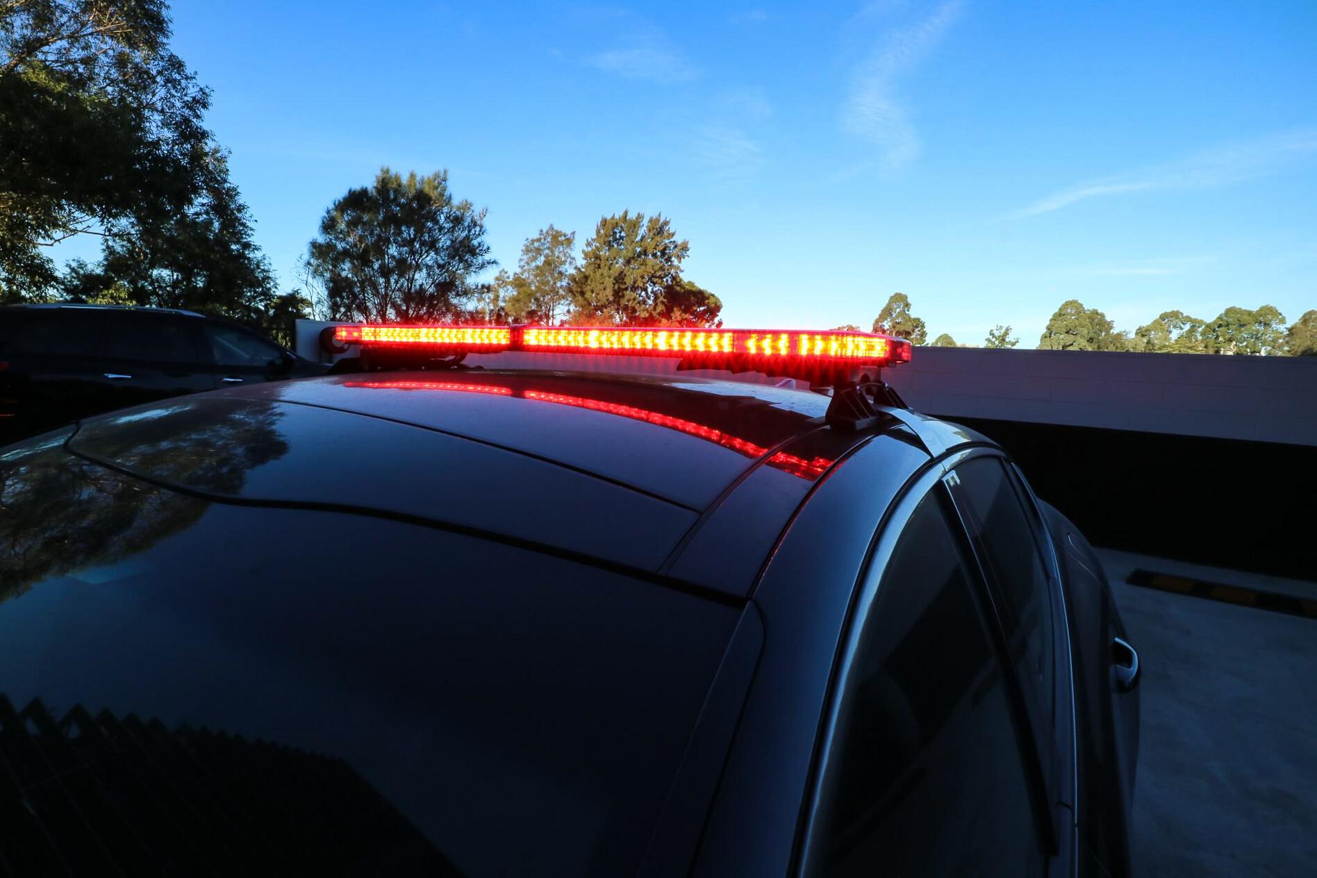 Kia Stinger police car