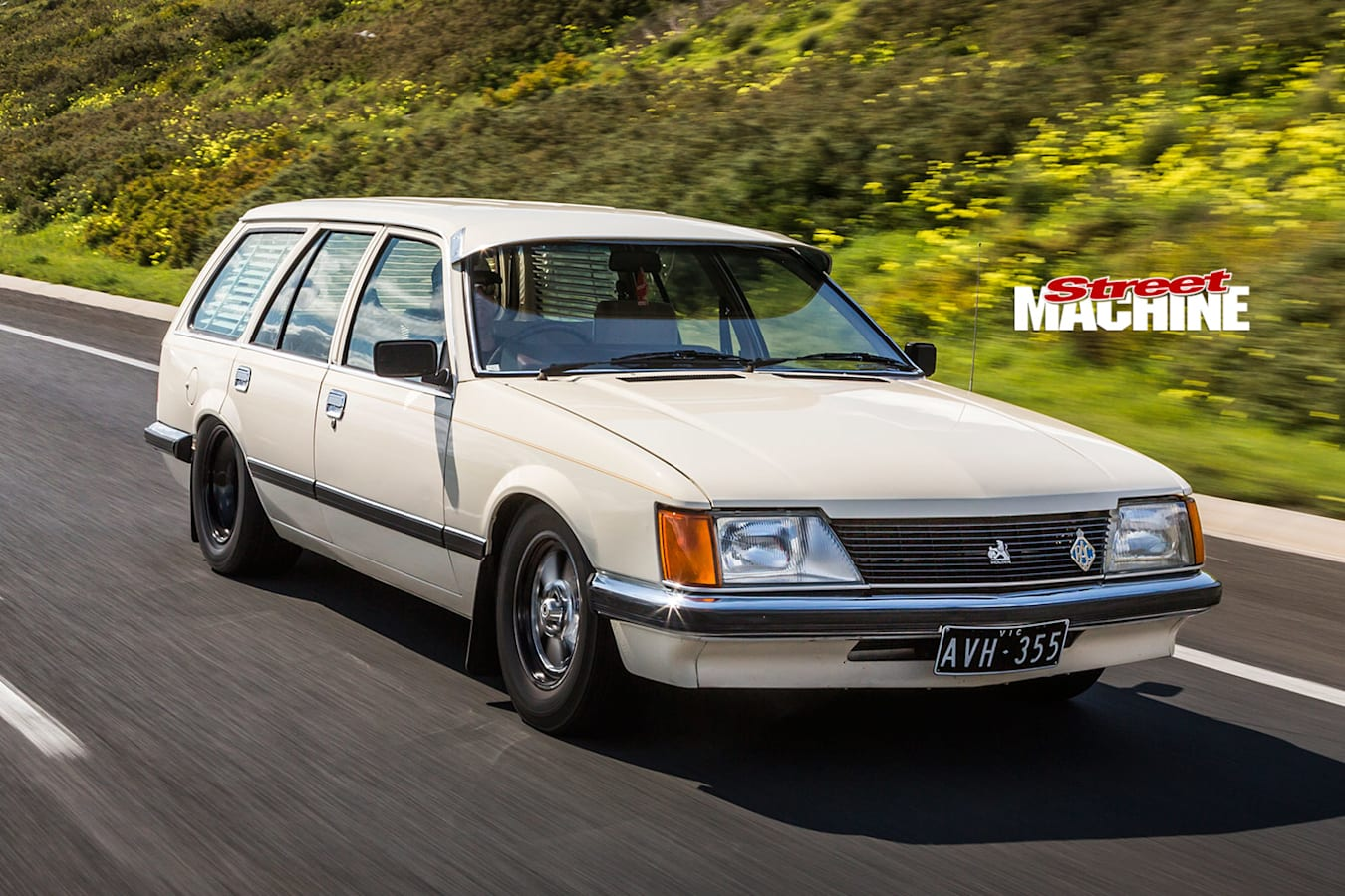 Holden VH Commodore wagon onroad