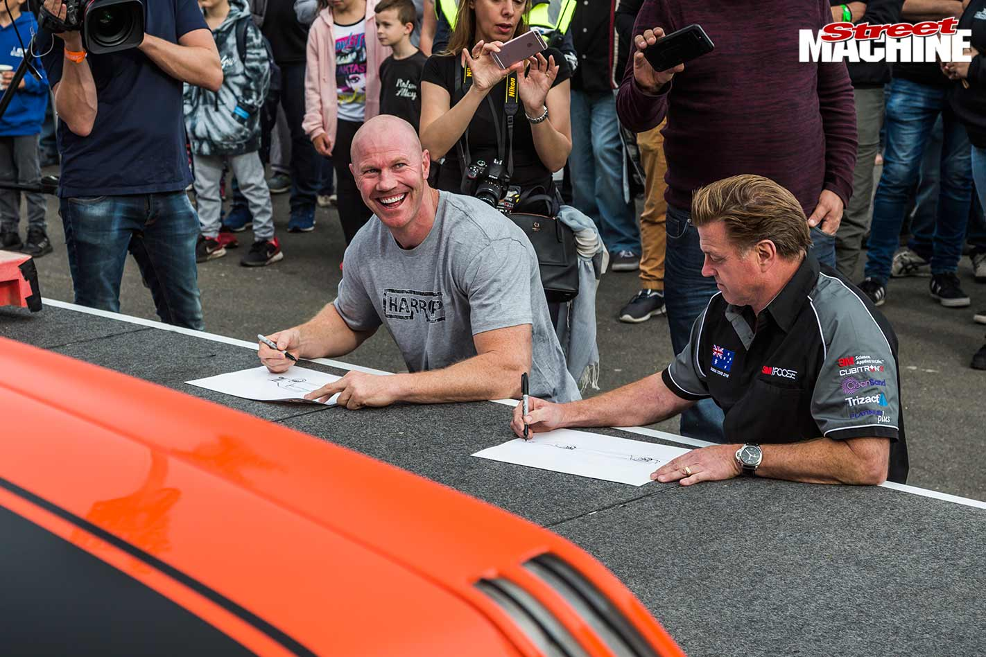 Barry Hall and Chip Foose