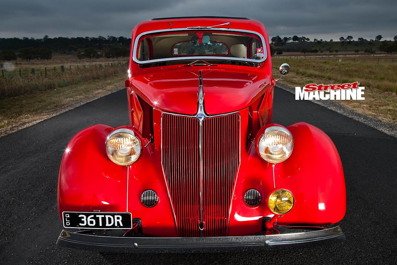 Ford Tudor front