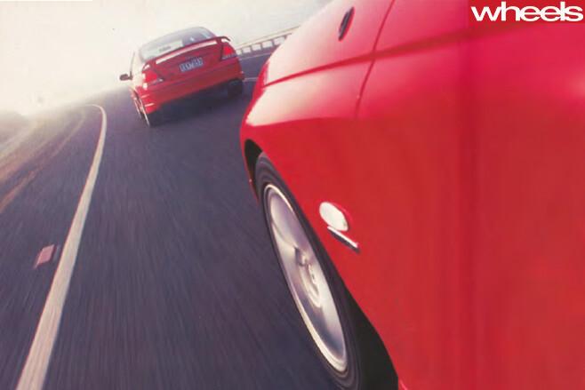 2001-Ford -Falcon -driving -rear