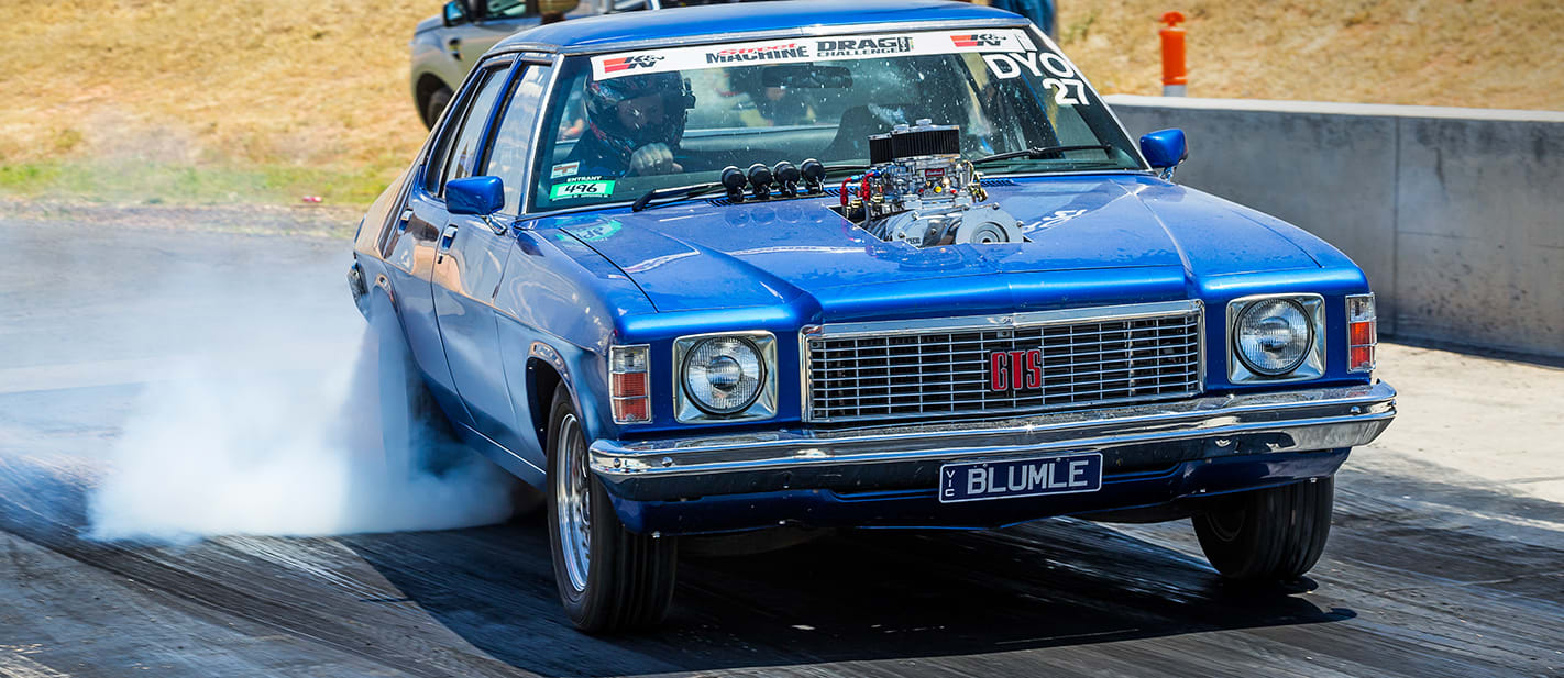 HJ Holden blown burnout nw