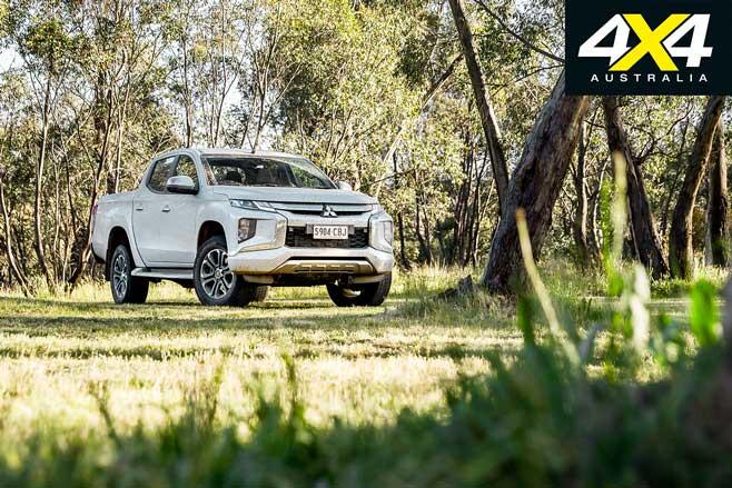 2020 4 X 4 Of The Year Mitsubishi Triton GLS Front Jpg