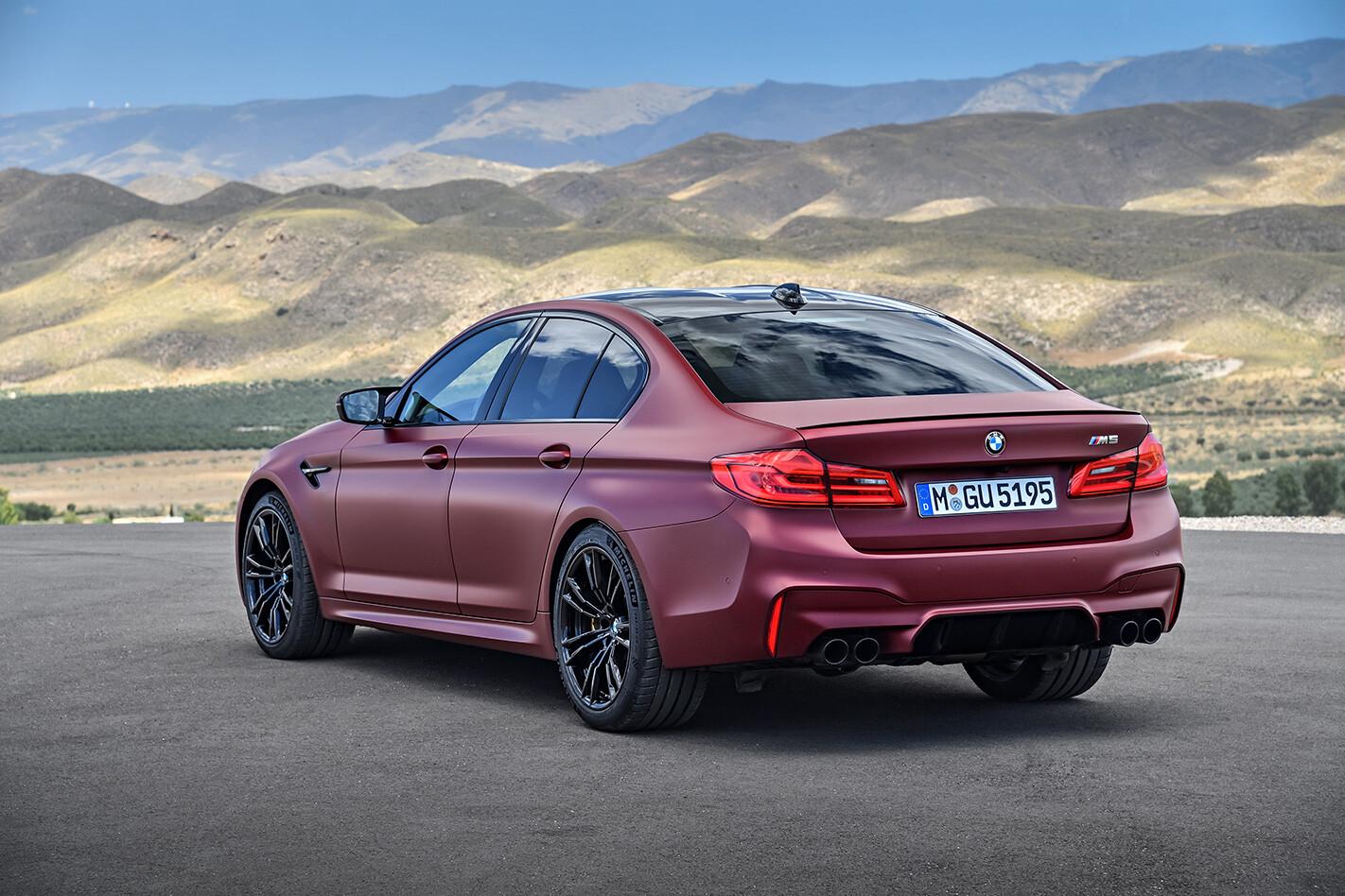 2018 BMW M5 First Edition rear.jpg