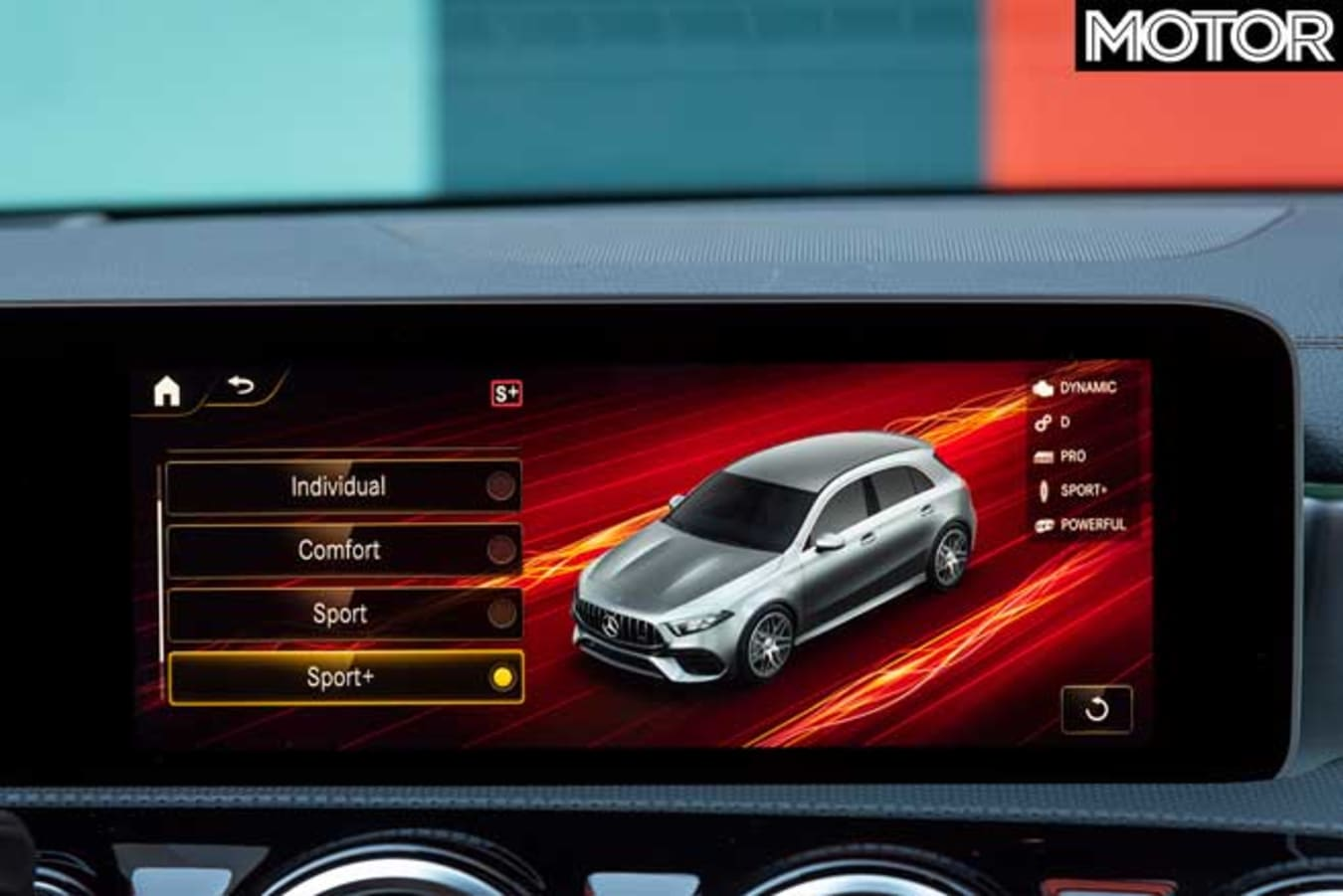 2020 Mercedes AMG A 45 S Drive Mode Selection Jpg
