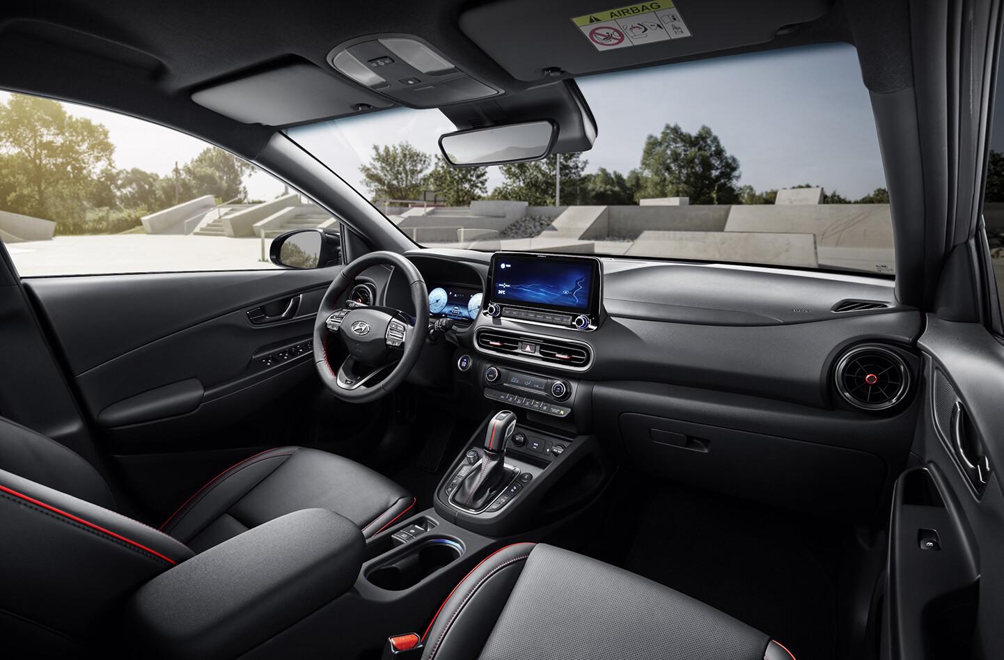 Hyundai Kona N-Line interior