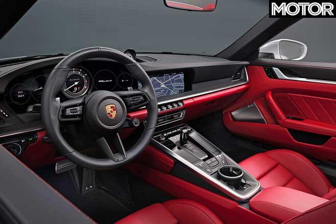 Porsche 992 911 Turbo Interior Jpg