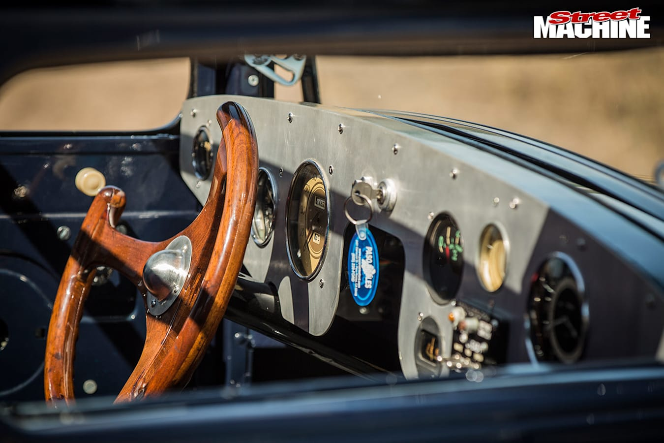 Ford Model A coupe dash