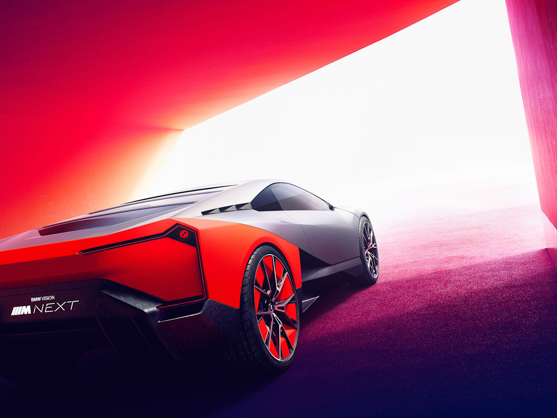 BMW Vision M 2019 launch