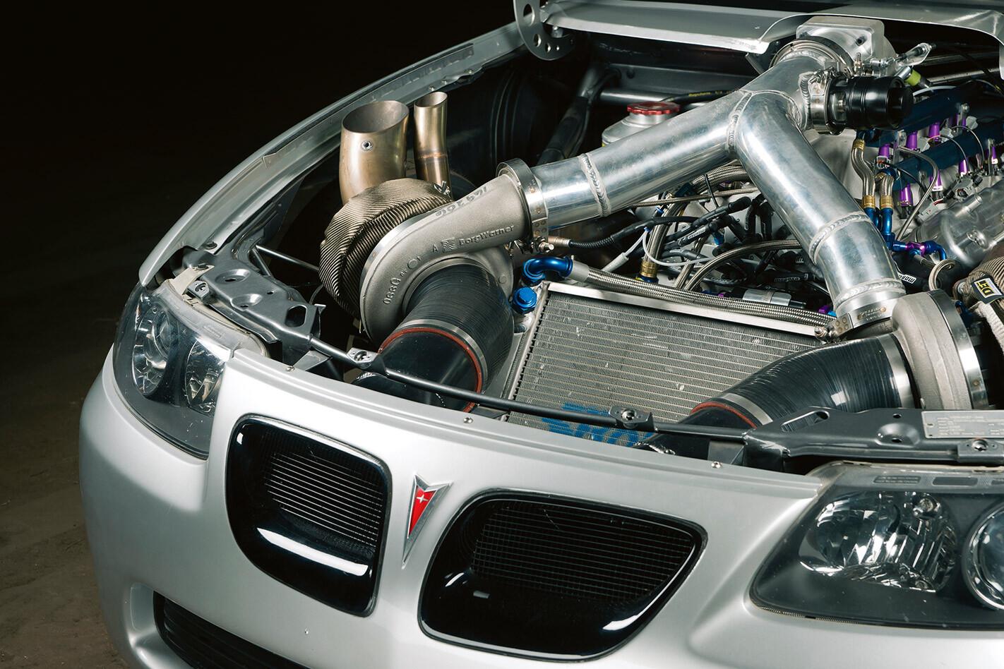 Pontiac GTO engine