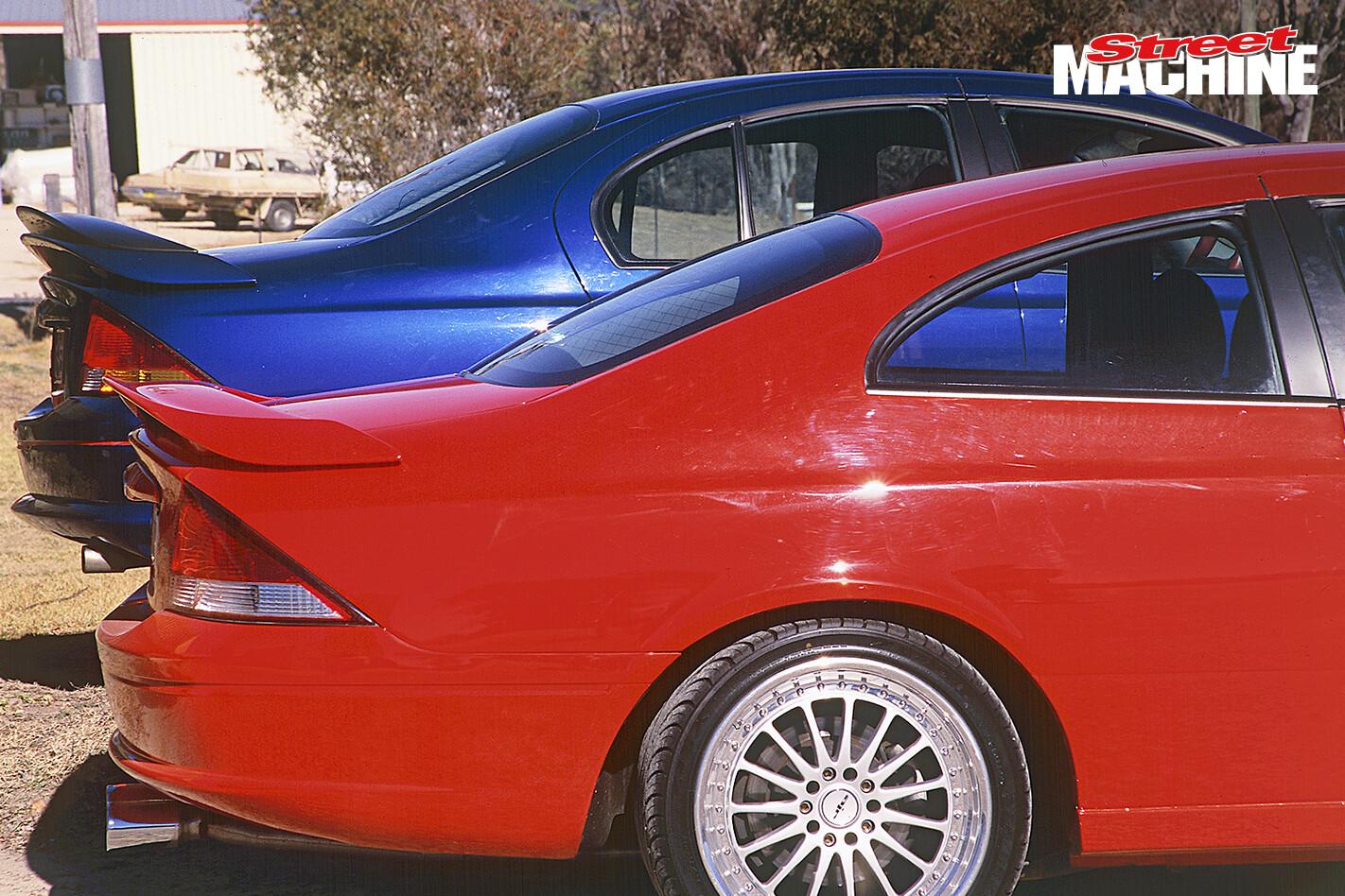 Ford AU Falcon Coupe 3