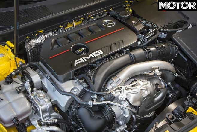 2020 Mercedes AMG A 35 Engine Jpg