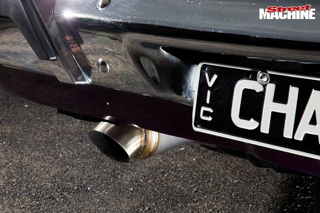 Chrysler VH Charger exhaust