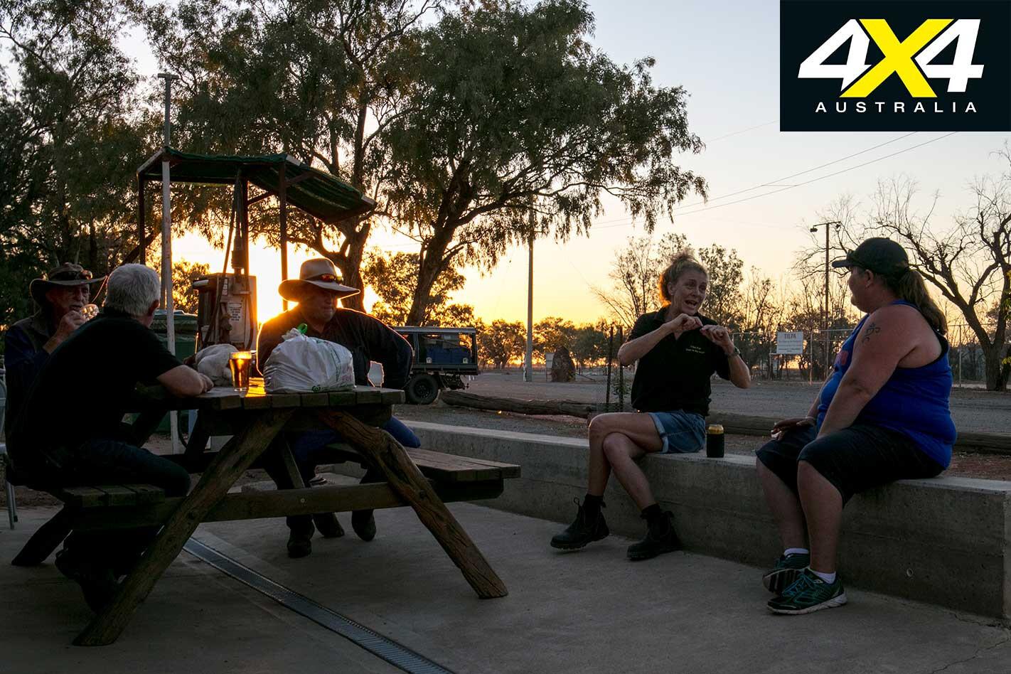 4 X 4 Pubs Tilpa Hotel NSW Sunset Jpg