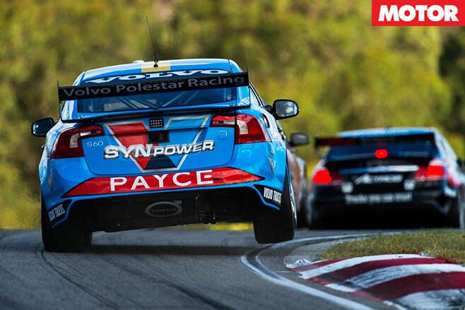 Volvo V8 racing car rear